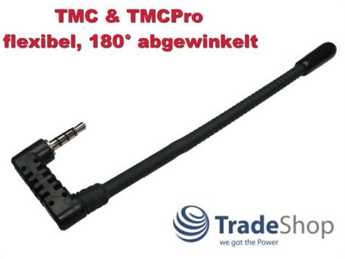 Navi TMC Antenne 3,5mm 90 Grad für Medion Gopal P4440 P4445