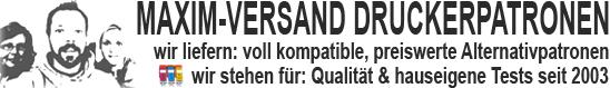 Druckerpatronen günstig kaufen bei MAXIM-VERSAND