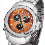 FIREFOX Aluminium Chronograph mandarine FFA02-125 (zweite Wahl)