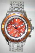 FIREFOX Edelstahl Chronograph HAMMER FFS04-107 orange