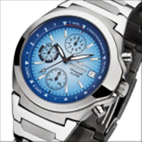 FIREFOX Edelstahl Herrenuhr Chronograph CLASSIC FFS06-103 blau 10 ATM