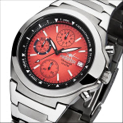 FIREFOX Edelstahl Chronograph CLASSIC FFS06-105 rot