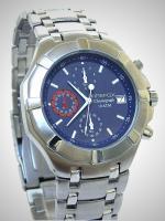 FIREFOX GALAXY Edelstahl Chronograph FFS08-103 blau - Aussteller!