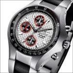 FIREFOX GLADIATOR Herrenuhr Chronograph FFS11-107 racing silber - Aussteller!