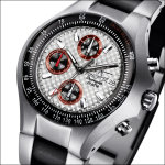 FIREFOX GLADIATOR Herrenuhr Chronograph FFS11-107 racing silber