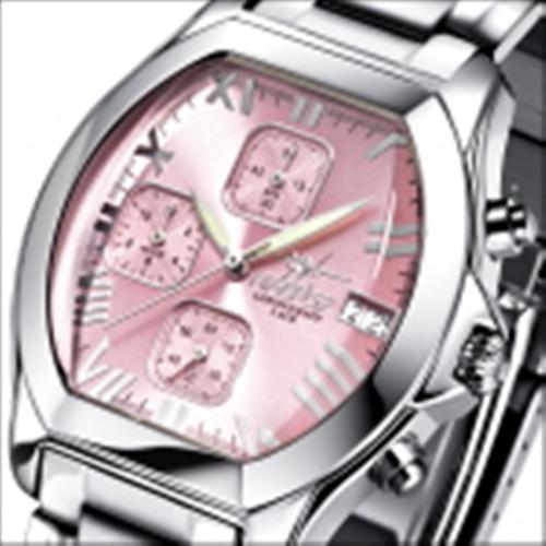 FIREFOX Damenuhr Chronograph NEBUKADNEZAR FFS175-190 sunray rosa Miyota OS10