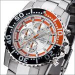 FIREFOX Chronograph ZION FFS17-107 silber/orange