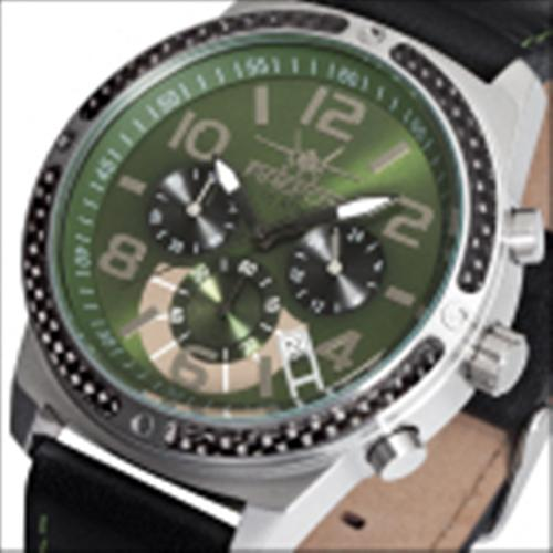 FIREFOX SKYDIVER Chronograph Edelstahl Carbon FFS20-115 olivgrün