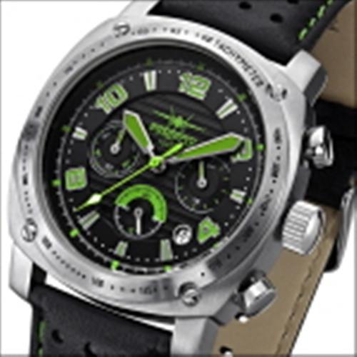 FIREFOX BATTLESHIP Herren Chronograph FFS22-115 schwarz/grün