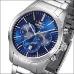 FIREFOX Herrenuhr Edelstahl Chronograph FFS270-103 sunray blau 10 ATM