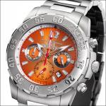 FIREFOX TRAVELER Herrenuhr Chronograph FFS30-107 orange Miyota 10 ATM
