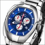 FIREFOX THE THING Herrenuhr Chronograph FFS60-103 blau Miyota 5 ATM