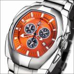 FIREFOX THE THING Chronograph Herrenuhr FFS60-107 orange Miyota 5 ATM