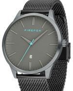 FIREFOX XCHANGE Edelstahl Herrenuhr FFPL01-007 Titangrau Mesh Armband