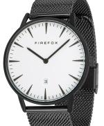 FIREFOX PASSION Edelstahl Damen Herren Uhr Unisex FFPL02-005 SCHWARZ weiß