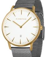 FIREFOX PASSION Edelstahl Damen Herren Uhr Unisex FFPL02-044 Zifferblatt weiß