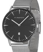 FIREFOX PASSION Edelstahl Damen Herren Uhr FFPL02-060 Zifferblatt schwarz
