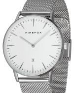 FIREFOX PASSION Edelstahl Damen Herren Uhr Unisex FFPL02-061 Zifferblatt weiß