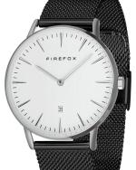 FIREFOX PASSION Damen- Herrenuhr Milanaise Mesh Armband FFPL02-063 weiß