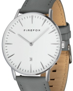 FIREFOX PASSION Edelstahl Herren Damenuhr Unisex FFPL02-194 grau 5 ATM