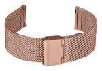 FIREFOX XL-Uhrenarmband Milanaise Meshband 20mm rose gold MSB-02-E20