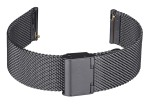 FIREFOX Uhrenarmband Milanaise Meshband 20mm schwarz MSB-02-C20