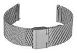 FIREFOX XL-Uhrenarmband Milanaise Meshband 20mm Edelstahl MSB-02-B20