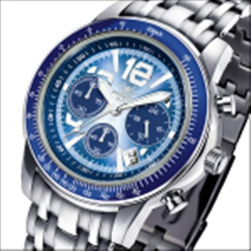 FIREFOX Chronograph AIRLINER FFS04-103c faded blau