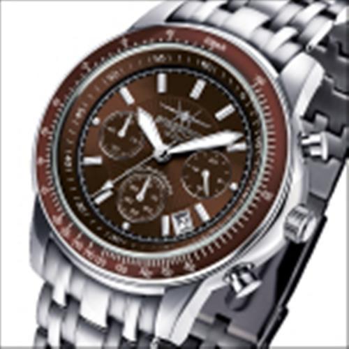 FIREFOX Chronograph AIRLINER FFS04-106b braun