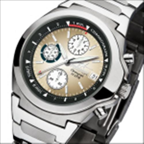 FIREFOX Chronograph CLASSIC FFS06-102f braun/weiß