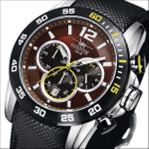 FIREFOX FALCON Armband- Herrenuhr Chronograph FFS180-106 braun 10 ATM