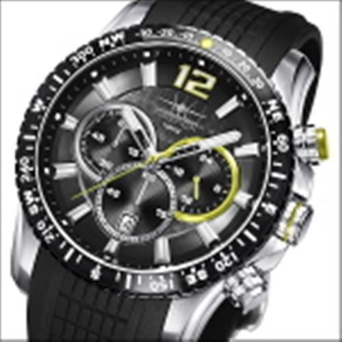 FIREFOX GADGET Edelstahl Chronograph FFS190-108 schwarz/gelb