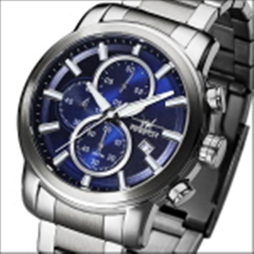 FIREFOX Herrenuhr Edelstahl Chronograph FFS215-103 blau
