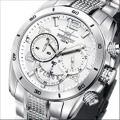 FIREFOX SKYWALKER Herrenuhr Edelstahl Chronograph FFS220-101 weiß 10ATM