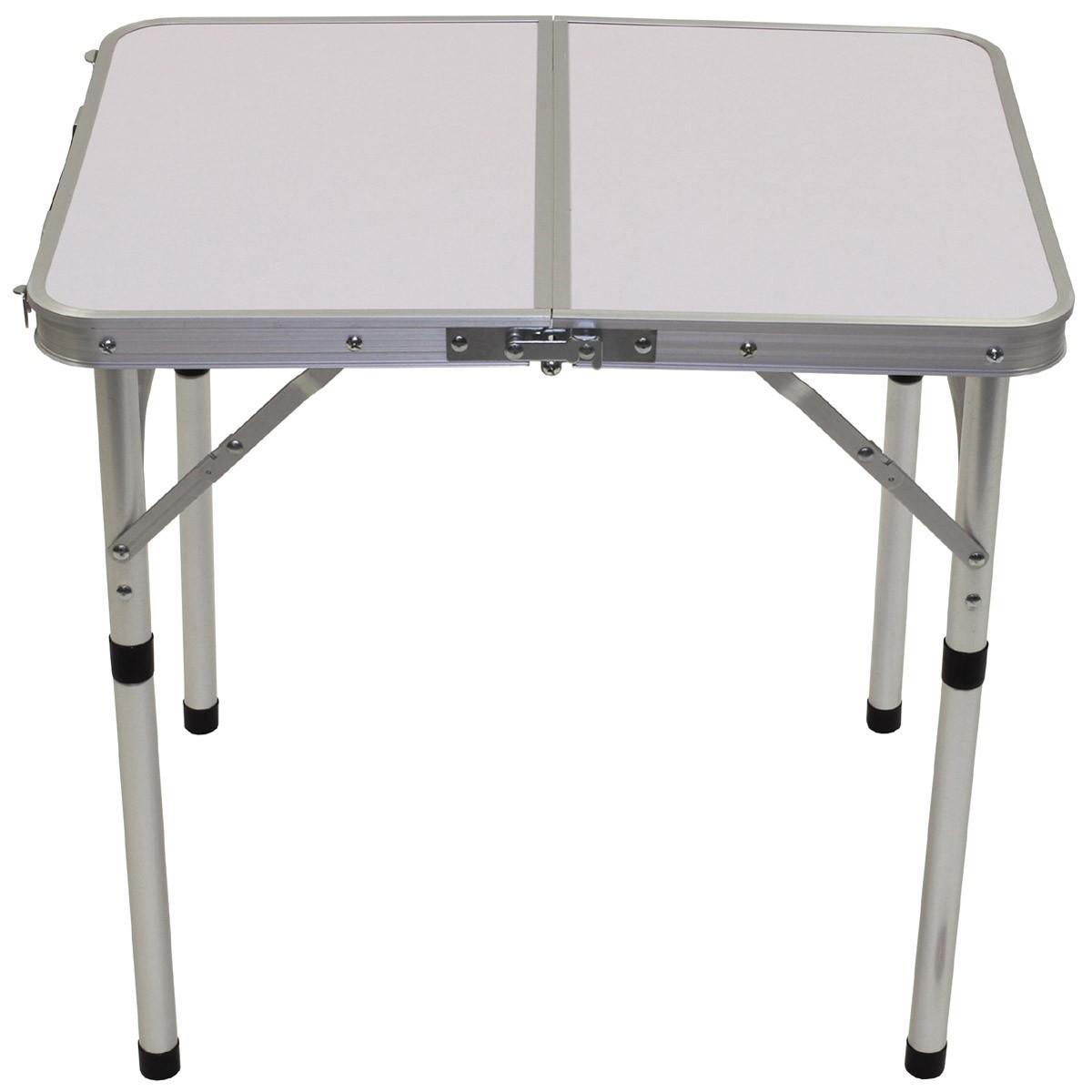 Alu Tisch Klappbar.Camping Tisch Klappbar Alu Tragegriff 60x45x55 Cm Campingtisch