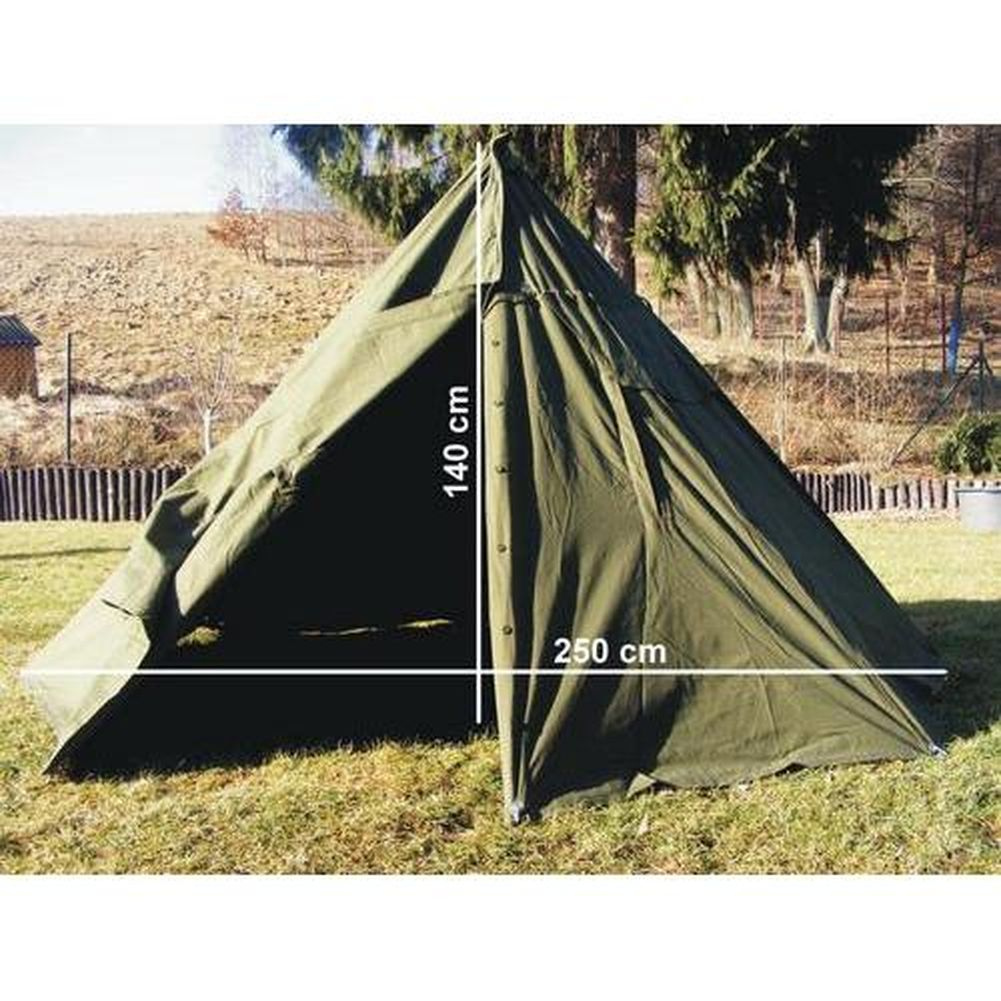 zelt polnisches armeezelt bushcreaft tent milit r 2 mann zelt oliv kinderzelt ebay. Black Bedroom Furniture Sets. Home Design Ideas