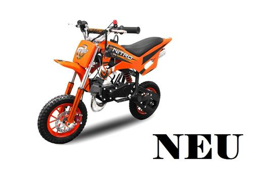 Nitro Motors DS67 49cc Dirtbike 8 Zoll Crossbike