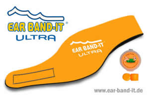 Ear Band-It ULTRA Set mit Putty Buddies - Orange - Größe S