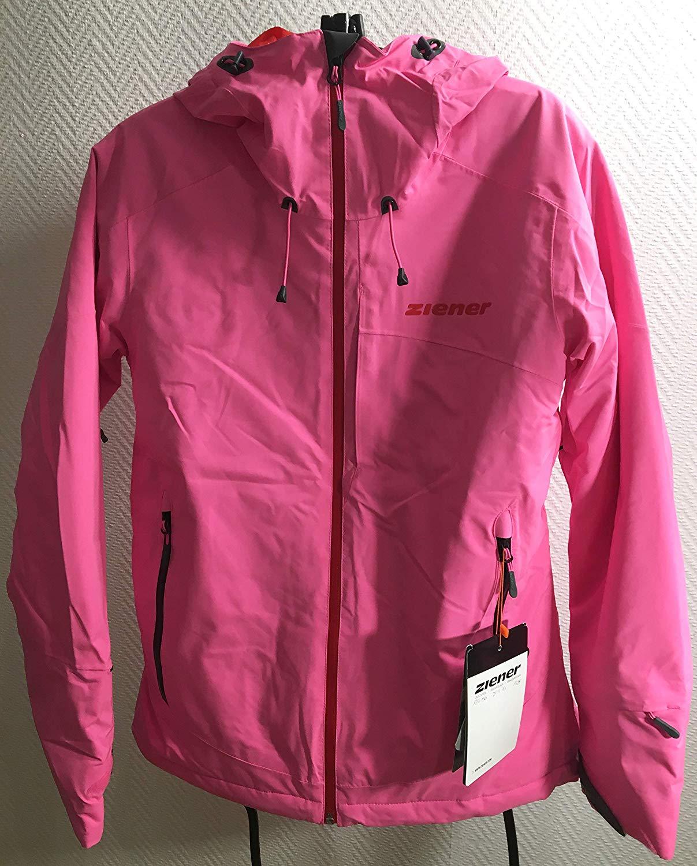 Details zu NEU: Ziener Damen Skijacke Suza PR Lady Gr.38 hot pink Jacket Allmountain