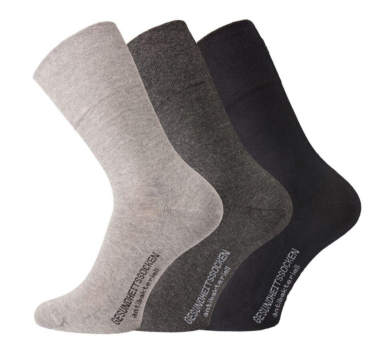 6 Paar Norweger Socken Wollsocken ohne einschneidenen Gummibund Herrensocken
