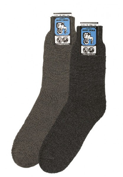NORDPOL©, 5 Paar superwarme Thermo-Wollsocken-Arbeitssocken