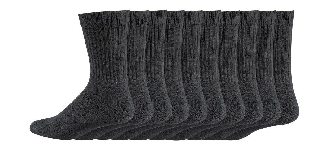 Arbeitssocken Baumwollsocken Berufssocken Arbeitsstrümpfe grau work  1€  p.Paar