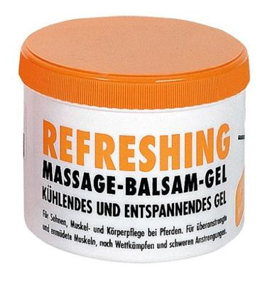 (20,90€  / 1L) Kerbl, MASSAGE PFERDESALBE REFRESHING 500 ml  !! 32530 !!