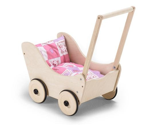 Bayer CHIC 2000 Holz-Puppenwagen Rambo Pablo rosa