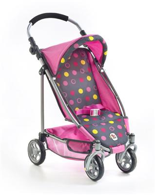 Bayer CHIC 2000 Buggy Puppenwagen Lupo Funny pink 615-24