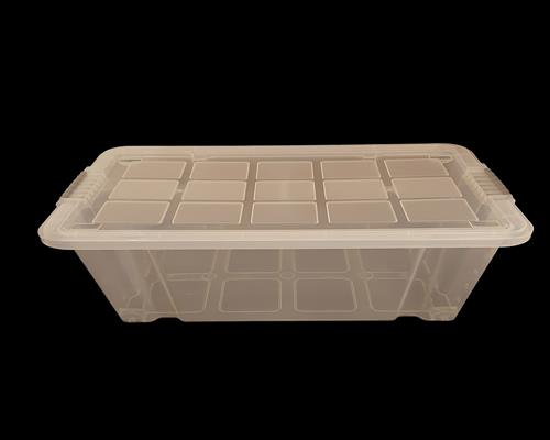 WieWin Eurobox Stapelbox Lagerkiste Transportbox Deckel transparent 60x40x30 cm