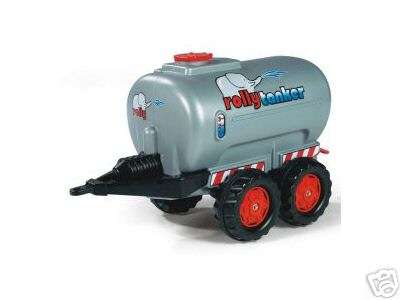 Rolly Toys 2-Achs Tanker in silber 122127