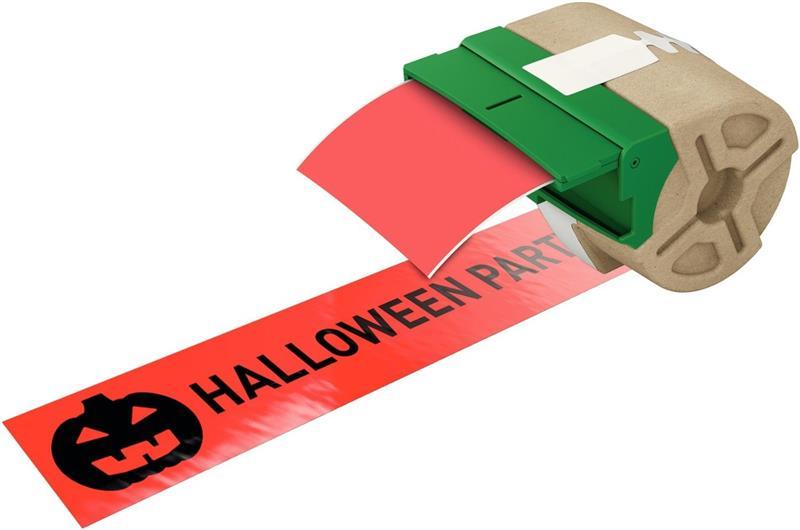 Leitz Etiketten 88mm x 10m Plastik Rot selbstklebend 7016-00-25