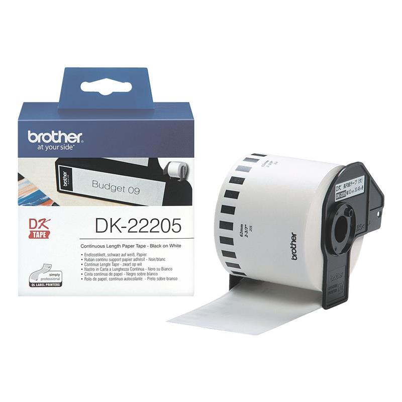 Brother P-touch Endlos-Etiketten DK-22205 DK22205