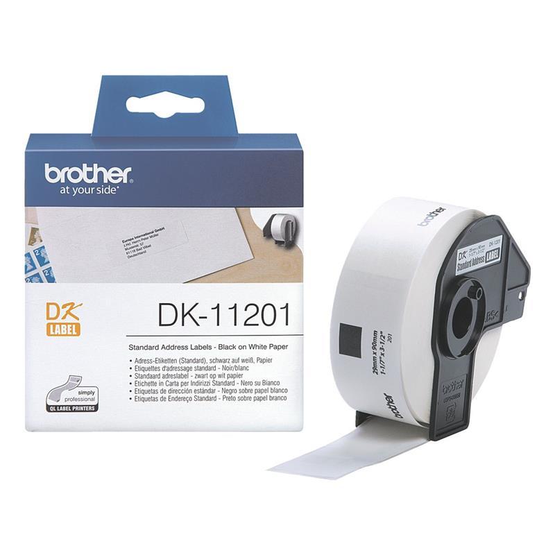 Brother P-touch DK-11201 Adress Einzel Etiketten DK11201